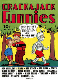 Cover Thumbnail for Crackajack Funnies (Western, 1938 series) #14