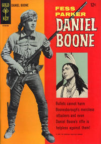 Cover Thumbnail for Daniel Boone (Western, 1965 series) #2