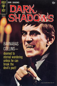 Cover Thumbnail for Dark Shadows (Western, 1969 series) #4