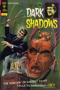 Cover Thumbnail for Dark Shadows (Western, 1969 series) #16