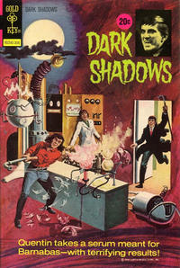 Cover Thumbnail for Dark Shadows (Western, 1969 series) #20