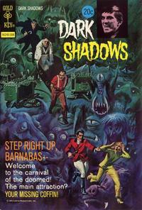 Cover Thumbnail for Dark Shadows (Western, 1969 series) #21 [Gold Key]