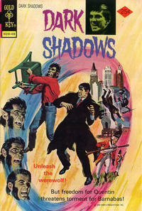 Cover Thumbnail for Dark Shadows (Western, 1969 series) #27 [Gold Key]