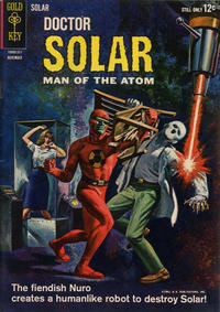 Cover Thumbnail for Doctor Solar, Man of the Atom (Western, 1962 series) #6
