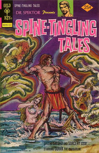 Cover Thumbnail for Dr. Spektor Presents Spine-Tingling Tales (Western, 1975 series) #3 [Gold Key Variant]
