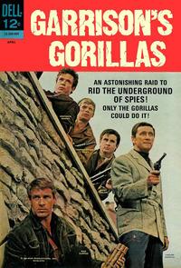 Cover Thumbnail for Garrison's Gorillas (Dell, 1968 series) #2