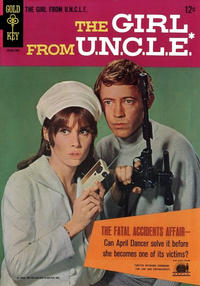 Cover Thumbnail for The Girl from U.N.C.L.E. (Western, 1967 series) #1