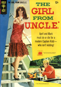 Cover Thumbnail for The Girl from U.N.C.L.E. (Western, 1967 series) #3