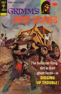 Cover for Grimm's Ghost Stories (Western, 1972 series) #33 [Whitman Variant]