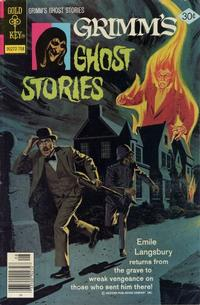 Cover Thumbnail for Grimm's Ghost Stories (Western, 1972 series) #39 [Gold Key Variant]