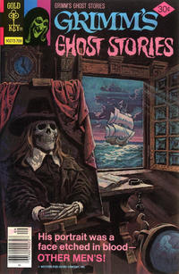 Cover Thumbnail for Grimm's Ghost Stories (Western, 1972 series) #40 [Gold Key Logo]