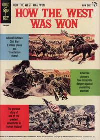 Cover Thumbnail for How the West Was Won (Western, 1963 series) #[nn]