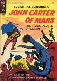 Cover Thumbnail for Edgar Rice Burroughs' John Carter of Mars (Western, 1964 series) #3