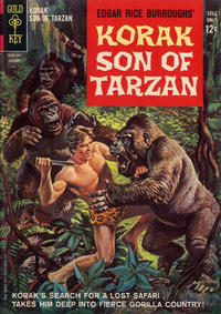Cover Thumbnail for Edgar Rice Burroughs Korak, Son of Tarzan (Western, 1964 series) #1