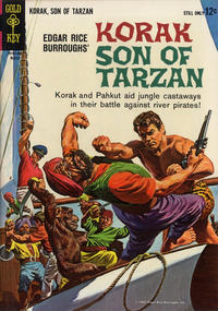 Cover Thumbnail for Edgar Rice Burroughs Korak, Son of Tarzan (Western, 1964 series) #2