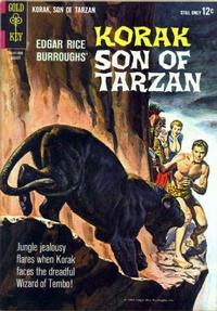 Cover Thumbnail for Edgar Rice Burroughs Korak, Son of Tarzan (Western, 1964 series) #4