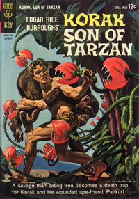 Cover Thumbnail for Edgar Rice Burroughs Korak, Son of Tarzan (Western, 1964 series) #5
