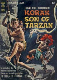 Cover Thumbnail for Edgar Rice Burroughs Korak, Son of Tarzan (Western, 1964 series) #6