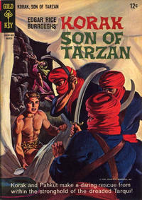 Cover Thumbnail for Edgar Rice Burroughs Korak, Son of Tarzan (Western, 1964 series) #7