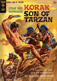 Cover Thumbnail for Edgar Rice Burroughs Korak, Son of Tarzan (Western, 1964 series) #9