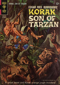 Cover Thumbnail for Edgar Rice Burroughs Korak, Son of Tarzan (Western, 1964 series) #10
