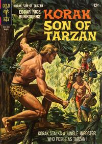 Cover Thumbnail for Edgar Rice Burroughs Korak, Son of Tarzan (Western, 1964 series) #12