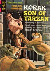 Cover Thumbnail for Edgar Rice Burroughs Korak, Son of Tarzan (Western, 1964 series) #14