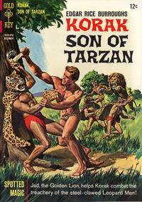 Cover Thumbnail for Edgar Rice Burroughs Korak, Son of Tarzan (Western, 1964 series) #15