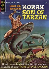 Cover Thumbnail for Edgar Rice Burroughs Korak, Son of Tarzan (Western, 1964 series) #16