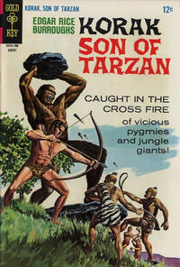 Cover Thumbnail for Edgar Rice Burroughs Korak, Son of Tarzan (Western, 1964 series) #18