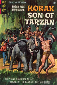 Cover Thumbnail for Edgar Rice Burroughs Korak, Son of Tarzan (Western, 1964 series) #19
