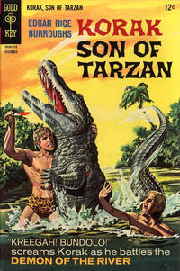 Cover Thumbnail for Edgar Rice Burroughs Korak, Son of Tarzan (Western, 1964 series) #20