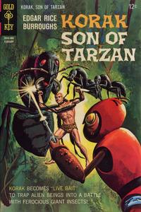 Cover Thumbnail for Edgar Rice Burroughs Korak, Son of Tarzan (Western, 1964 series) #21