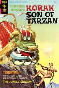 Cover Thumbnail for Edgar Rice Burroughs Korak, Son of Tarzan (Western, 1964 series) #22 [12-Cent Variant]