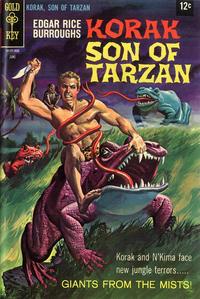 Cover Thumbnail for Edgar Rice Burroughs Korak, Son of Tarzan (Western, 1964 series) #23