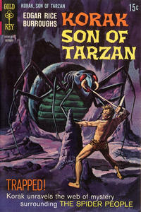 Cover Thumbnail for Edgar Rice Burroughs Korak, Son of Tarzan (Western, 1964 series) #25