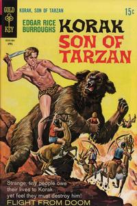 Cover Thumbnail for Edgar Rice Burroughs Korak, Son of Tarzan (Western, 1964 series) #28
