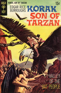 Cover Thumbnail for Edgar Rice Burroughs Korak, Son of Tarzan (Western, 1964 series) #30