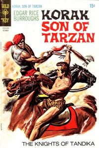 Cover Thumbnail for Edgar Rice Burroughs Korak, Son of Tarzan (Western, 1964 series) #31