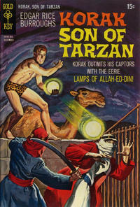 Cover Thumbnail for Edgar Rice Burroughs Korak, Son of Tarzan (Western, 1964 series) #32