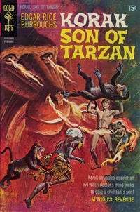 Cover Thumbnail for Edgar Rice Burroughs Korak, Son of Tarzan (Western, 1964 series) #33