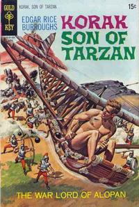 Cover Thumbnail for Edgar Rice Burroughs Korak, Son of Tarzan (Western, 1964 series) #34