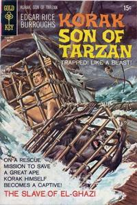 Cover Thumbnail for Edgar Rice Burroughs Korak, Son of Tarzan (Western, 1964 series) #35