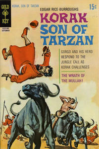 Cover Thumbnail for Edgar Rice Burroughs Korak, Son of Tarzan (Western, 1964 series) #37