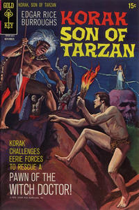 Cover Thumbnail for Edgar Rice Burroughs Korak, Son of Tarzan (Western, 1964 series) #38