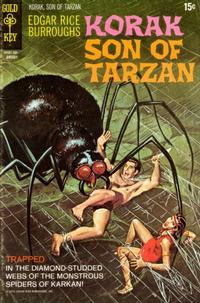 Cover Thumbnail for Edgar Rice Burroughs Korak, Son of Tarzan (Western, 1964 series) #39