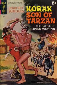 Cover Thumbnail for Edgar Rice Burroughs Korak, Son of Tarzan (Western, 1964 series) #42