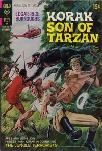 Cover Thumbnail for Edgar Rice Burroughs Korak, Son of Tarzan (Western, 1964 series) #43
