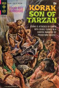 Cover Thumbnail for Edgar Rice Burroughs Korak, Son of Tarzan (Western, 1964 series) #44