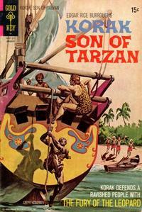 Cover Thumbnail for Edgar Rice Burroughs Korak, Son of Tarzan (Western, 1964 series) #45